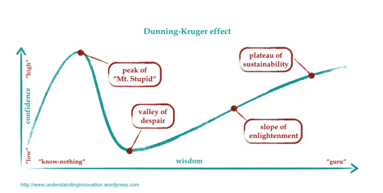 The Dunning Kruger Effect